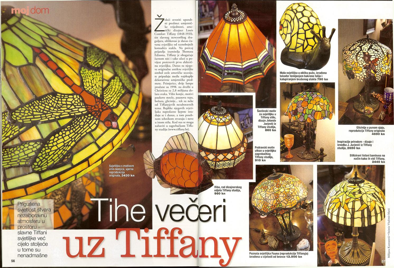 Tiffany Studio - Tena